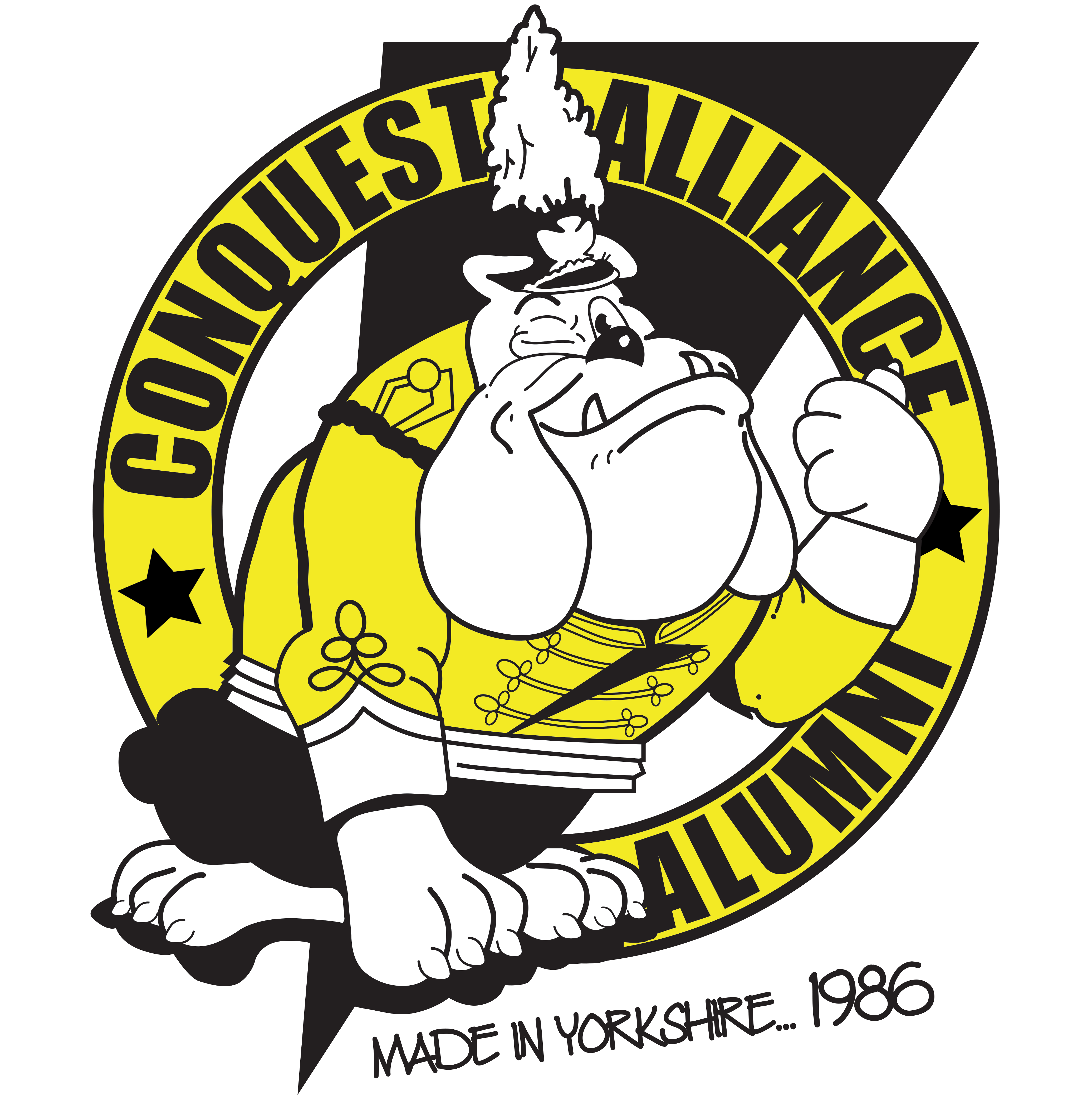 Conquest Alliance Allumni Merchandise T-shirts UK 80's Drum Corps