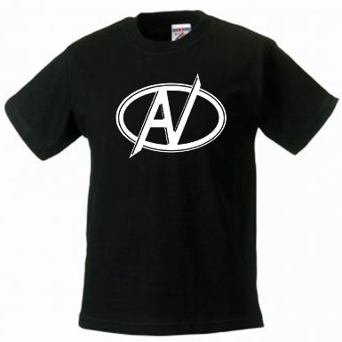 Avengers T-Shirt Large AV Logo  - Childs