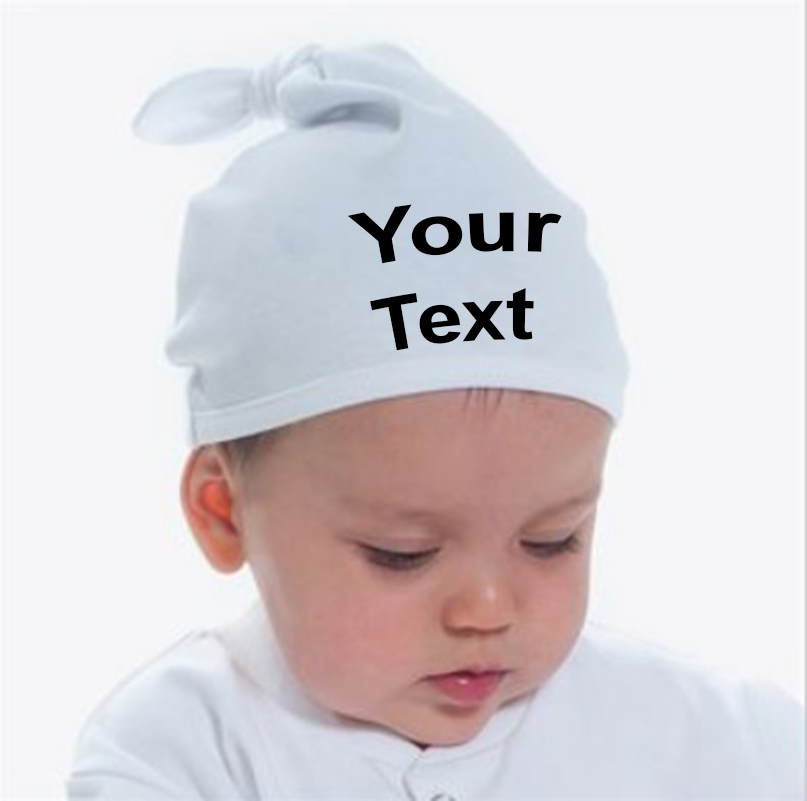 1e10cdf1fca Personalised Baby Knotted Hat LW91T